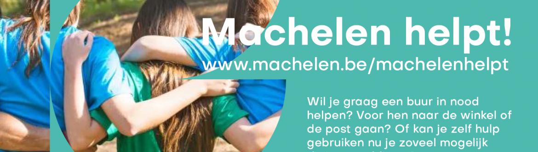 Wil jij ook je buren of iemand anders helpen? Of kun je zelf misschien hulp gebruiken? ??Kijk snel op www.machelen.be/machelenhelpt en wij zoeken een match!